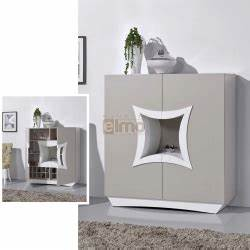 salon salon cuir canape meubles tv living meubles With meuble tv sur mesure design 2 meuble tv living design moderne portes push laque