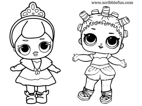coloring doll 40 free printable lol dolls coloring pages