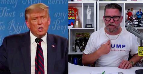 video gavin mcinnes reacts  trump proud boys stand  remark