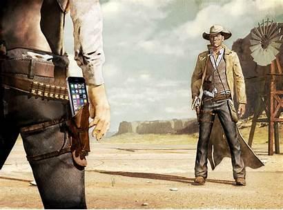 Duel Cowboy Western West Standoff Giphy Gifs