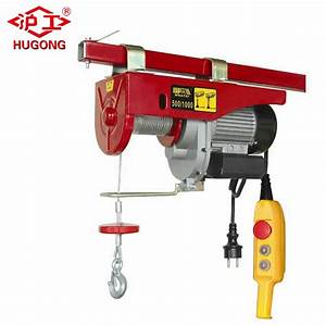 China Mini Electric Wire Rope Hoist 200 Kg Up To 1000kg