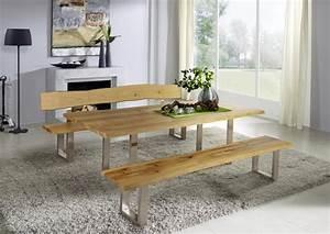 Esstisch Baumkante Ausziehbar : esstisch 200 260x76x100cm baumkante metallf e 1 ~ Watch28wear.com Haus und Dekorationen