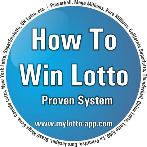 Lotto Numbers  How To Win  Proven System For All The