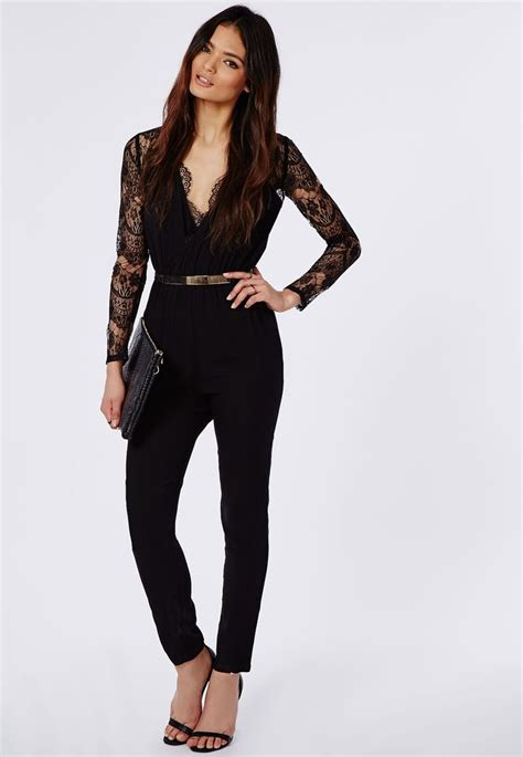 black jumpsuit for wedding best 25 sleeve black jumpsuit ideas on