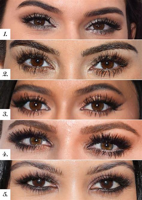 guess  kardashian jenner smoky eyes glamour