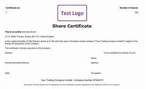 share certificate free template create manage and cancel With share certificate template companies house