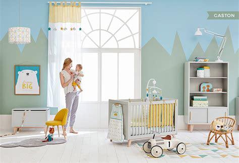 chambre garcon bleu ma chambre de bébé chez maisons du monde la mariée en