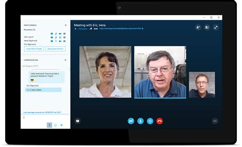 skype for business with security and of microsoft