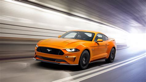 2018 Ford Mustang Sports Car 4k 8k Wallpapers Hd