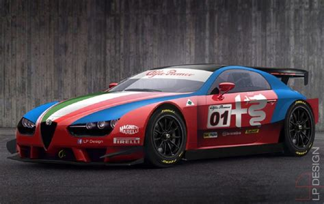 Alfa Romeo Race Car by Alfa Romeo Brera Race Car Una Nuova Vettura Da
