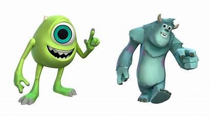 Disney Infinity Monsters University Pixar Character Press