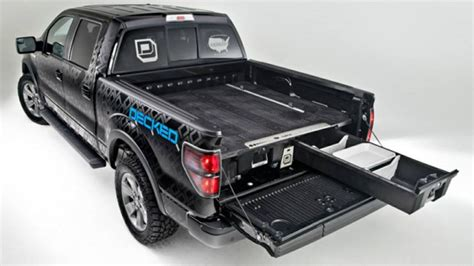 Decked Truck Bed Storage Dimensions by Decked Truck Storage System Topperking Topperking