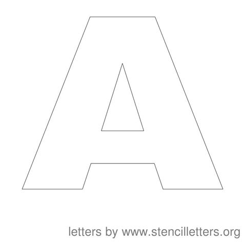 12 inch letters free printable letter stencils stencil letters 12 inch 15749