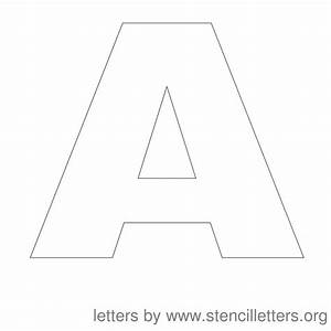 free printable letter stencils stencil letters 12 inch With 12 inch letters