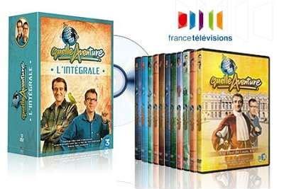 coffret cadeau cours de cuisine coffret de 12 dvd de l 39 émission quelle aventure racontée