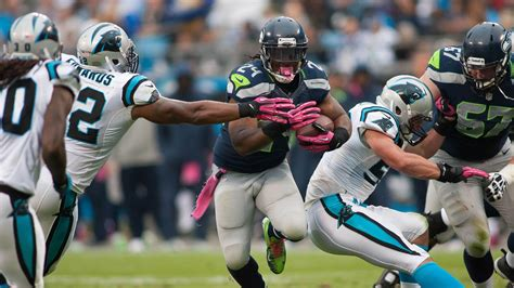 seahawks  panthers final score seattle holds