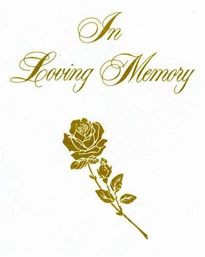 Memory Loving Clipart Memories Clip Funeral Cliparts