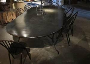 emejing table de jardin fer forge noir images awesome With table jardin metal ronde pliante 3 table de jardin fer forge prix et choix avec le guide