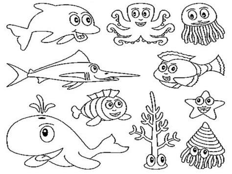 disegni da stare e colorare animali mare disegni mare da colorare e stare immagini mare