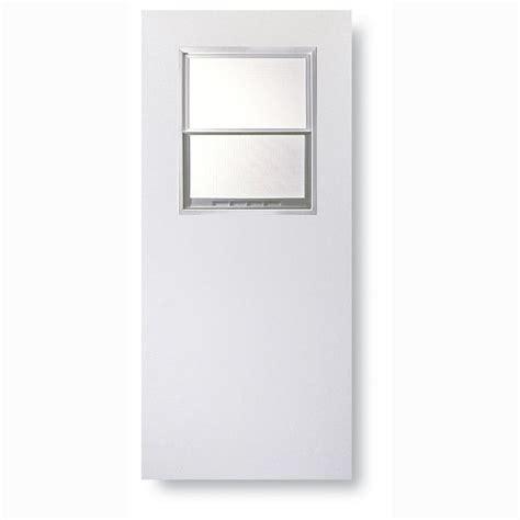 half light door shop reliabilt flush solid wood half lite universal