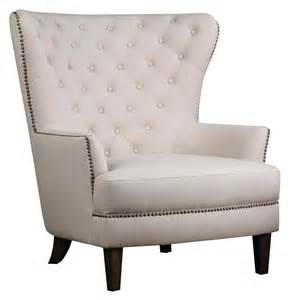 jofran conner chair oversized wing back accent chair with