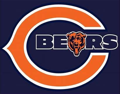 Bears Chicago Clip Football Orange Bear Gift