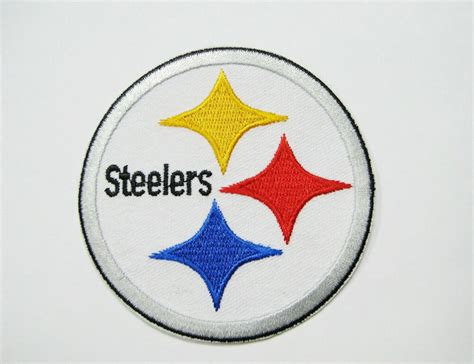 Lot Of (1) Nfl Pittsburgh Steelers Embroidered Logo Iron