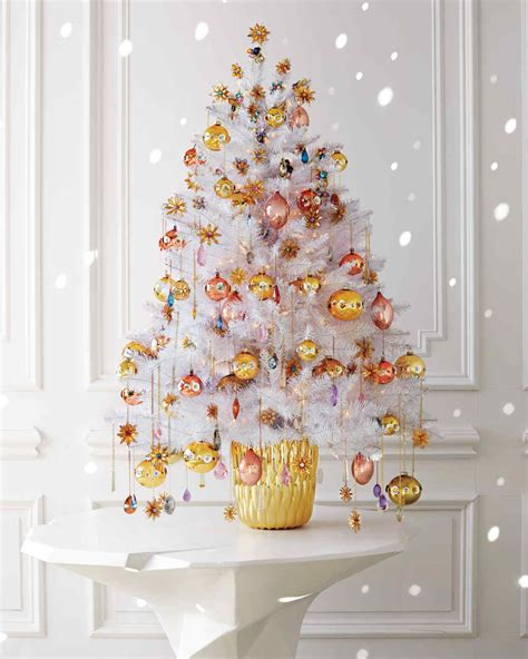 enchanted forest christmas tree ideas  martha stewart