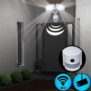 Lampe Mit Kamera Und Bewegungsmelder : led au en lampe wand leuchte mit sensor kamera cam wifi sd bewegungsmelder ip44 ebay ~ Yasmunasinghe.com Haus und Dekorationen