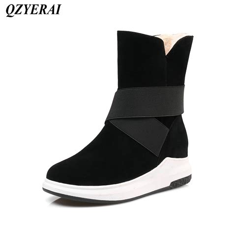 qzyerai europe winter  arrival flat bottom plush warm