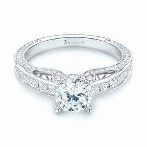 women39s diamond engagement ring 103077 With womans wedding rings