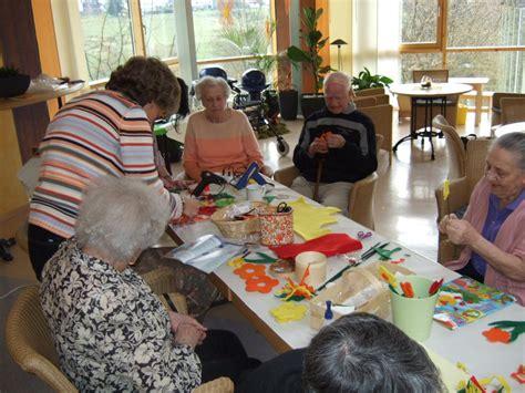 kreatives basteln zum fruehling christliche seniorenhaeuser luetzeln