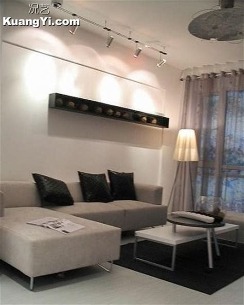 interior decoration in home 黑白灰的简约现代风格 4装修图片 况艺装修图片