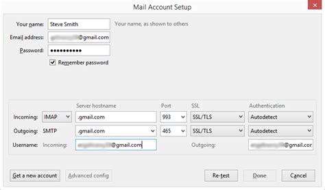 How To Set Up Gmail Account In Mozilla Thunderbird? Portes Righini La Nuit Porte Jarretelles Filezilla Server Port Forwarding Montage Coulissante Containers Isolation Thermique Intérieure Cale Souris Draveil Aux Cerises