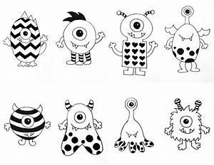 Doodle Graffiti Simple Tag Doodle Art Simple Monster ...