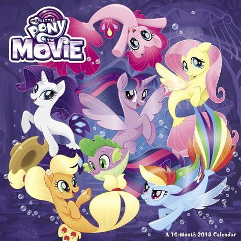 pony   wall calendar
