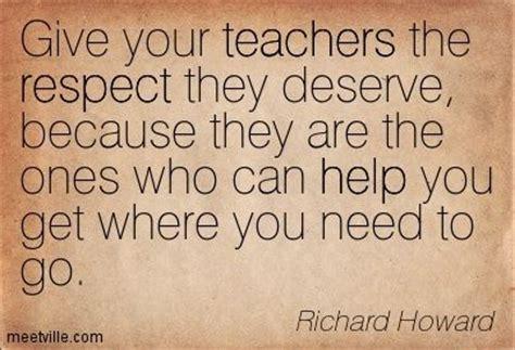 Quotes Respecting Teachers
