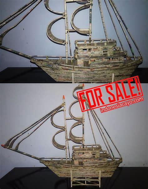 Jual Klakat Bekas cara mudah membuat replika kapal dari koran bekas cayo