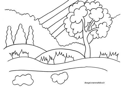 disegni semplici da fare con gli acquerelli disegno da colorare sulla primavera disegni mammafelice