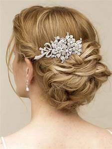 QuotRobinquot Elegant Rhinestone Flower Bridal Hair Comb Asian