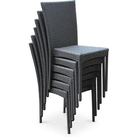 chaise de jardin resine awesome salon de jardin resine tressee gris anthracite