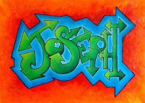 Grafiti Nama Ari : Personalised Graffiti Name Art On Canvas