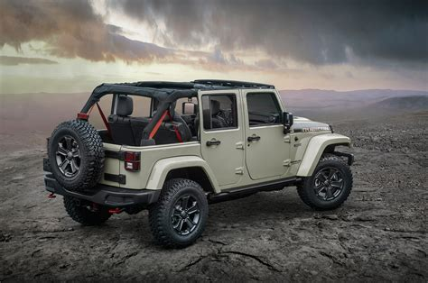 rubicon jeep 2018 jeep wrangler jk continues on for 2018 model year motor
