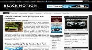 black motion blogger template free download With motion 4 templates free download