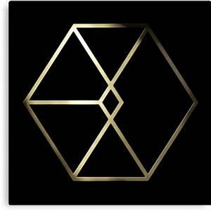 """""""EXO - Exodus Logo 3"""" Canvas Prints by PaolaAzeneth"""