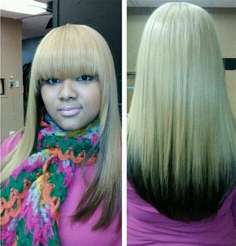 Pretty Colored Wrap Quick Weave Hair Snatched