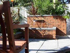Brick Wall Water Feature