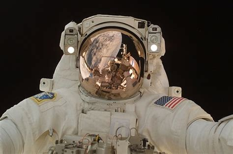 You're An Astronaut On A Spacewalk—and Your Helmet Is