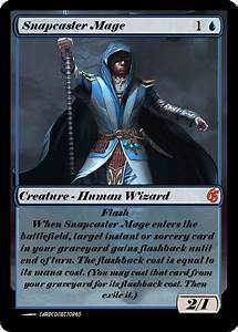 Snapcaster Mage PROXY - Great for Commander, Vintage ...