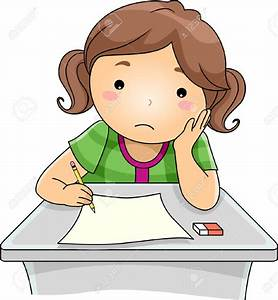 Homework clipart sad - Pencil and in color homework ...